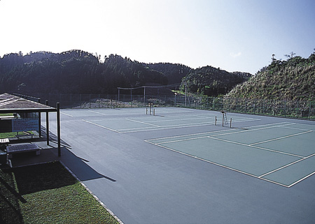 御宿台テニスコート